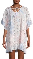 Thumbnail for your product : Surf.Gypsy Eyelet Embroidered Cover-Up