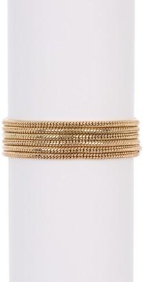 trina Trina Turk Multi Row Snake Chain Bracelet