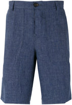 Brunello Cucinelli knee-length short - men - Cotton/Linen/Flax - 46