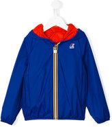 K Way Kids reversable hooded jacket