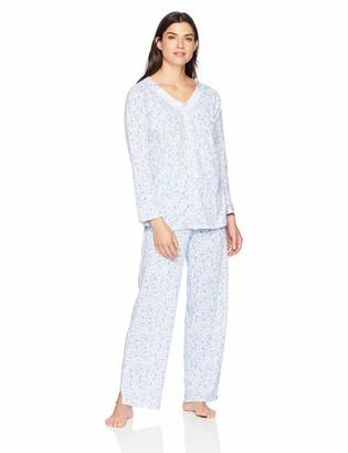 Aria Women's Button Front Pajama Set