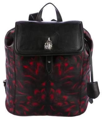 Alexander McQueen Skull Padlock Backpack