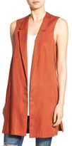 Astr Side Slit Long Vest
