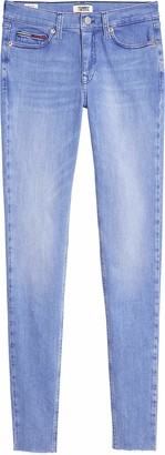 Tommy Jeans Women's Nora Mr Skinny Ankle Alx Straight Jeans