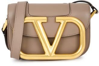 Valentino Supervee mini leather cross-body bag