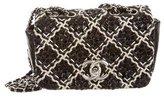 Chanel Glazed Tweed Mini Flap Bag