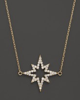 "Bloomingdale's Khai Khai Diamond Starsplosion Necklace in 18K Yellow Gold, 17"""