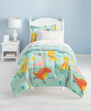 Dream Factory Dino Time Comforter Bed in a Bag, Full Bedding
