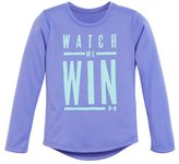 Under Armour Girls' Toddler UA Watch Me Win Long Sleeve