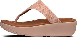 FitFlop Imogen Basket-Weave Raf Sandals