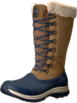 Muck Boot Muck Arctic Apres Tall Rubber & Leather Lace-Up Women's Winter Boots