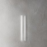 "CB2 Beaker Glass Tube 8"" Wall Vase"