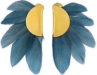 Katerina Psoma Halfmoon Artemis Earrings