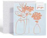 Marks and Spencer Bronze Vase Card