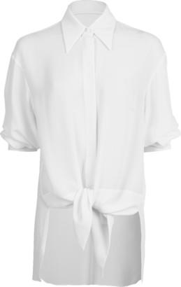Michael Kors Tie Front Shirt