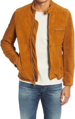 Schott NYC Suede Moto Jacket