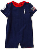 Ralph Lauren Baby Boys 3-24 Months Americana Color Block Shortall