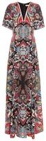 Etro Paisley-print silk maxi dress