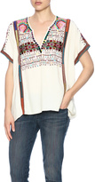 Love Sam Endless Yucatec V-Neck Top