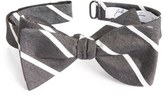 John W. Nordstrom Young Stripe Silk Bow Tie