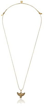 Alex and Ani Spirit of the Eagle Necklace (Rafaelian Gold) Necklace
