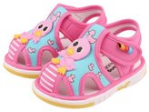 Happy Cherry Toddlers Sandals Baby Boys Girls Summer Prewalker Cute Closed Toe Shoes - 14