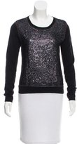 Reed Krakoff Sequined Long Sleeve Top