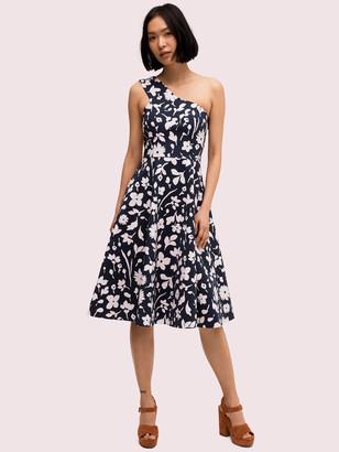 Kate Spade Splash One-Shoulder Dress