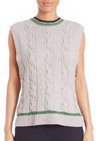3.1 Phillip Lim Collegiate Sleeveless Knit Tank