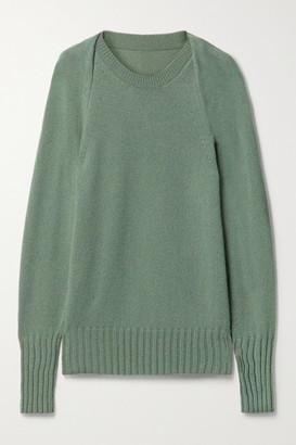Petar Petrov Neena Oversized Cashmere Sweater - Gray green