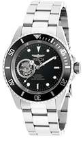 Invicta Men's 'Pro Diver' Stainless Steel Automatic Watch, Color:Silver-Toned (Model: 20433)
