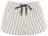 Thin stripe pyjama shorts