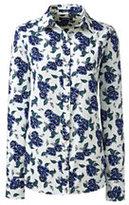 Classic Women's Tall Traditional No Iron Dress Shirt-Cherry Jam Plaid