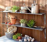 Pottery Barn Galvanized Metal Shelf