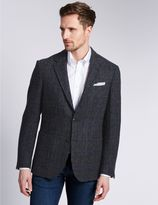 Marks and Spencer Pure Wool Tailored Fit Harris Tweed Jacket