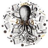 Fornasetti 2008 Calendar Plate #41
