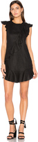 Karina Grimaldi Anthony Ruffle Mini Dress