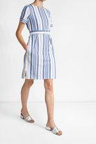 A.P.C. Striped Cotton Dress