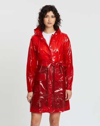 Rains Women's Coats - Transparent Belt Jacket - Size One Size, XXS/XS at The Iconic