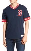 Mitchell & Ness Men's Boston Red Sox - Vintage V-Neck T-Shirt