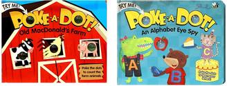 "Melissa & Doug Poke-A-Dot Book Bundle - ""Old MacDonald"" and ""Alpha Eye Spy"" Books"