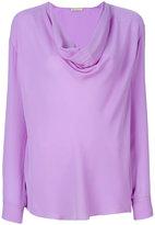 Emilio Pucci cowl-neck blouse