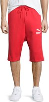 Puma Knit Bermuda Shorts, High Risk Red