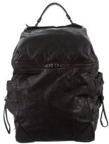 Alexander Wang Distressed Leather Backpack