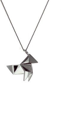 Origami Jewellery Mini Cuckoo Gun Metal
