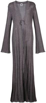 M Missoni Knitted Long-Length Cardigan