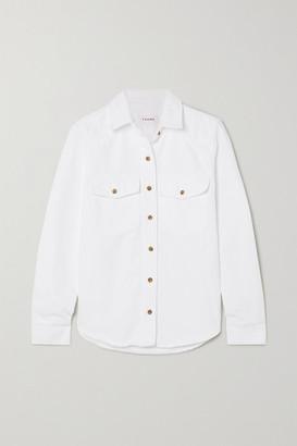 Frame Heritage Denim Shirt - White