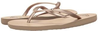 Roxy Bermuda II (Gold Cream) Women's Sandals