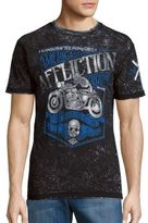 Affliction Motor Graphic Cotton Tee