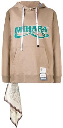 Maison Mihara Yasuhiro Handkerchief Detail Hoodie